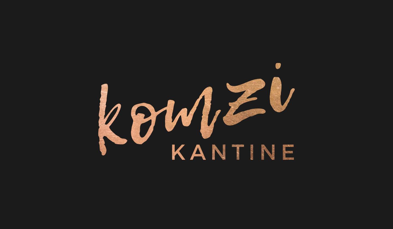 Komzi Kantine Logo